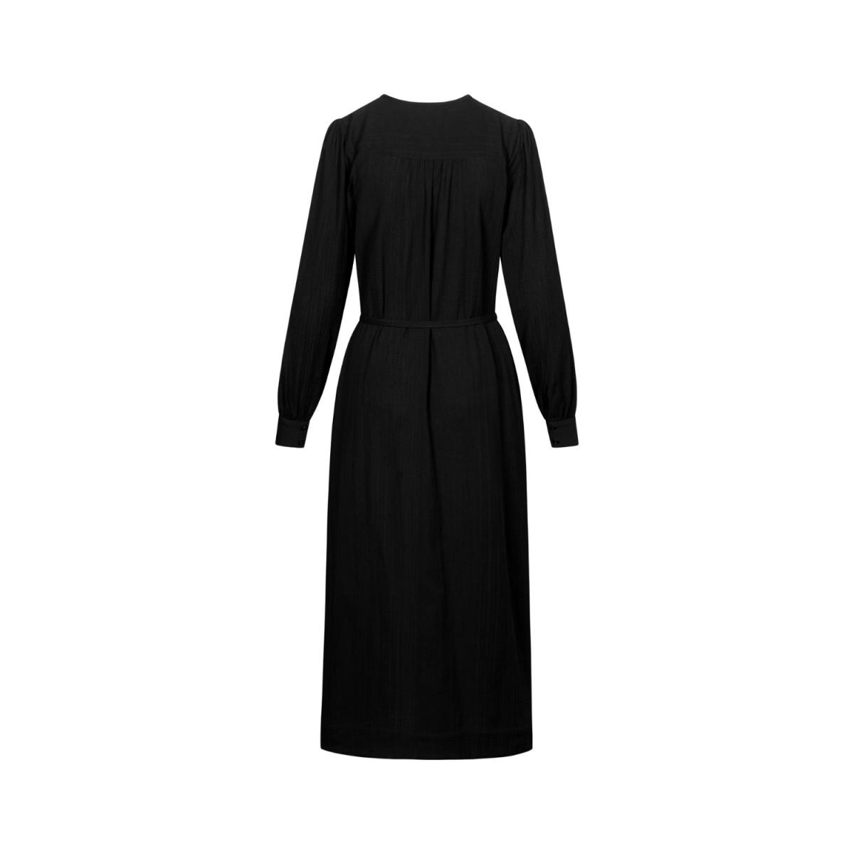 mathilde kjole - black - ryg