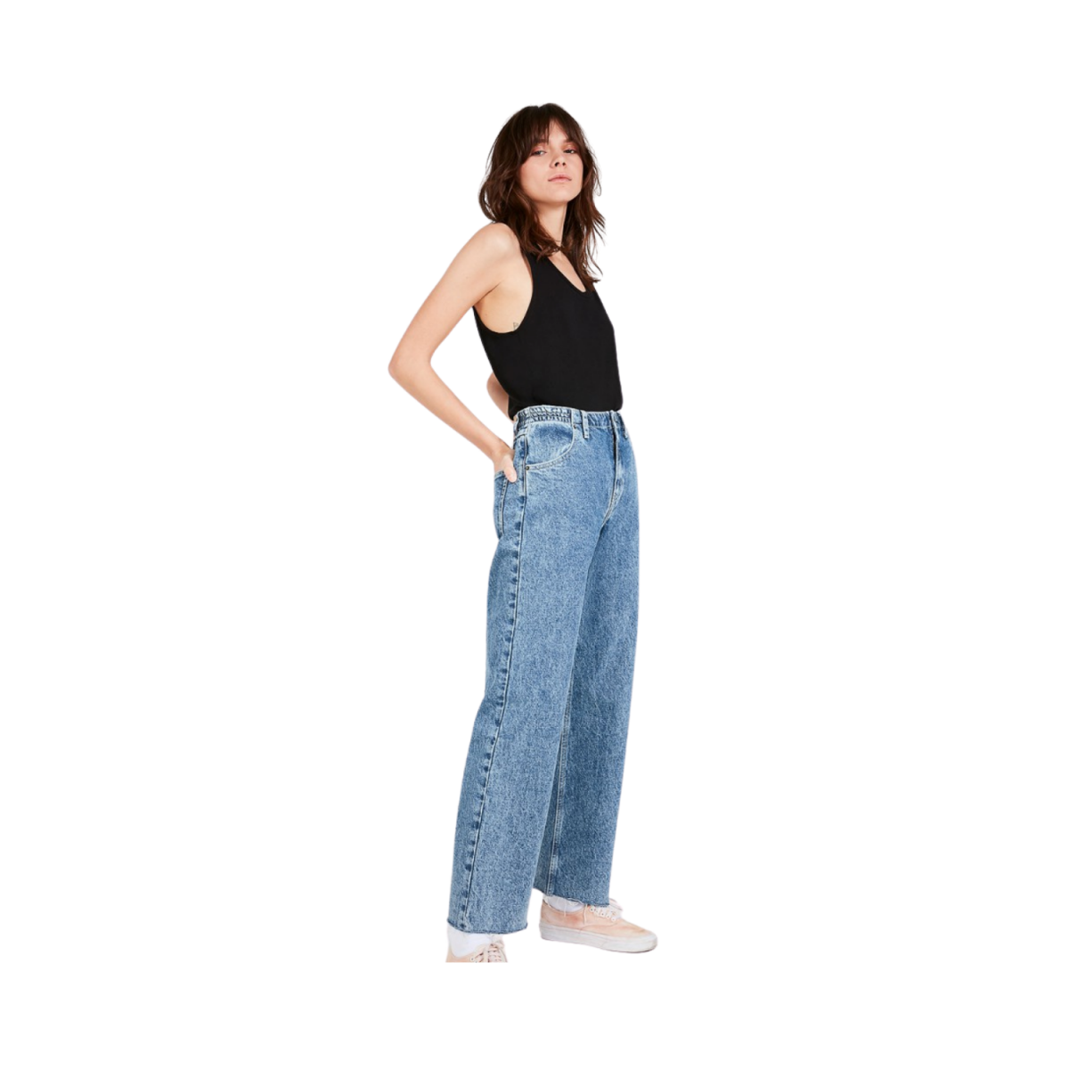 jacksonville strop - noir t-shirt - model billede