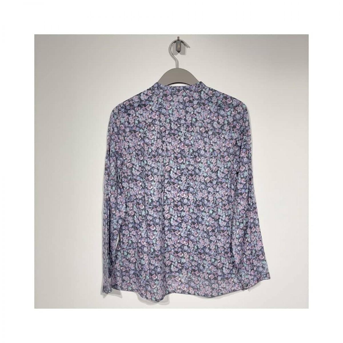 maria skjorte - multi color - ryggen