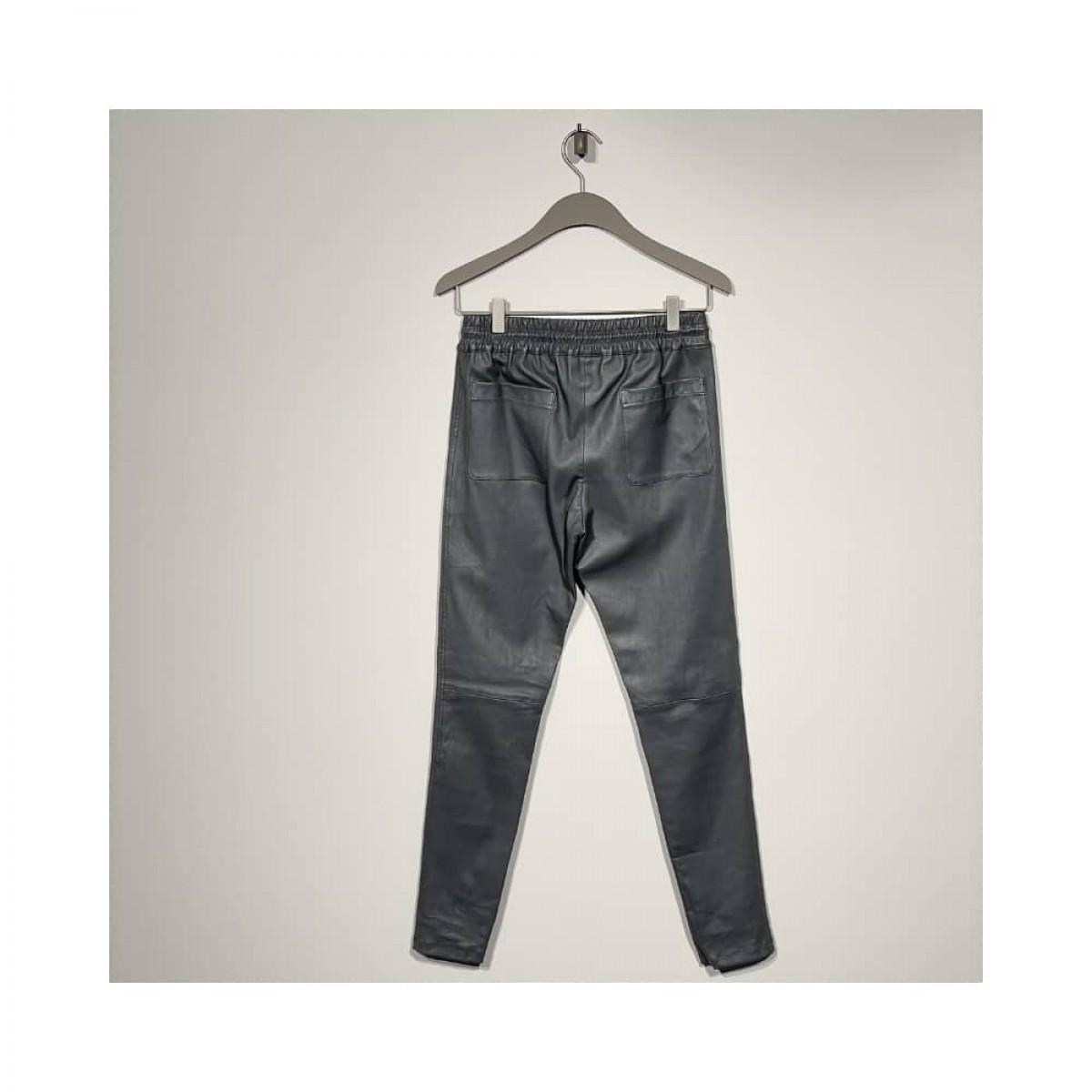 skind bukser - gris - bag