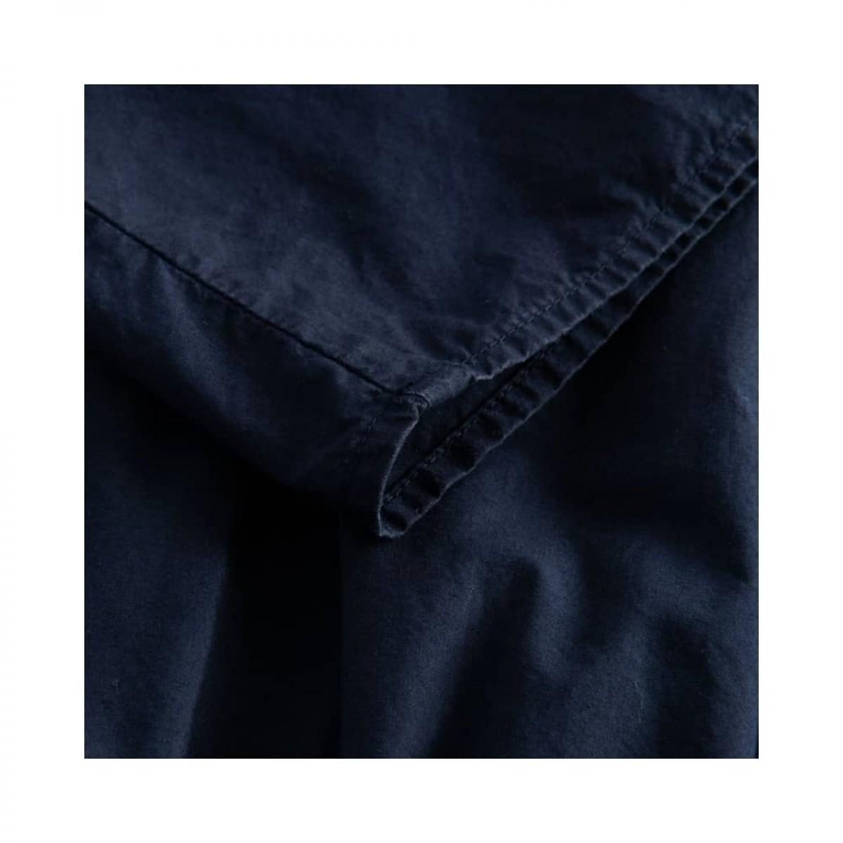paprika nederdel - dark navy - detalje