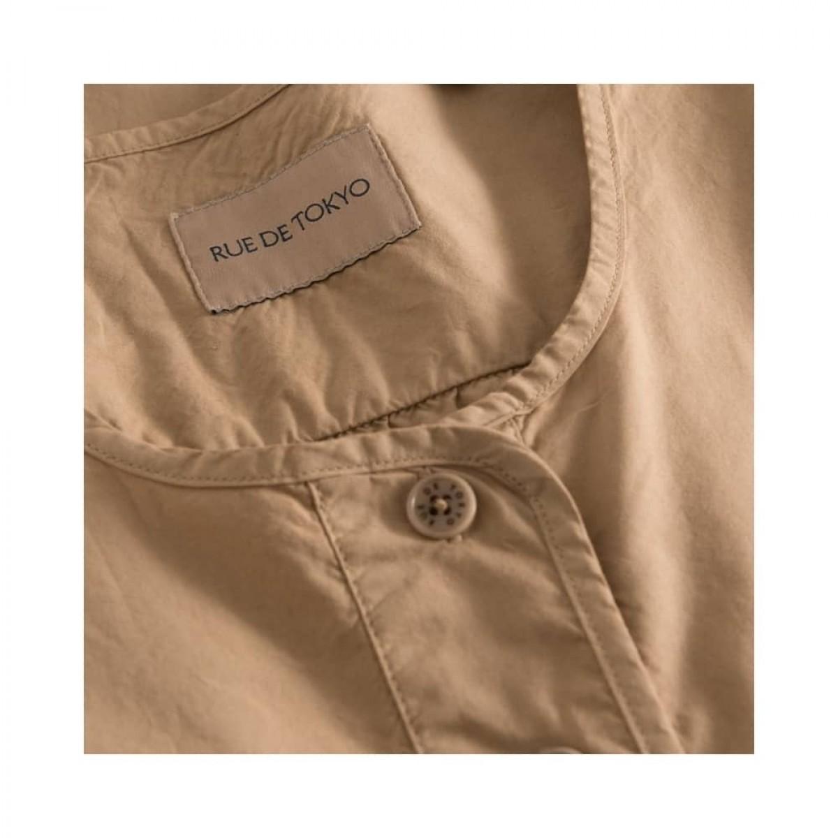 deluna kjole - light brown - knap detalje