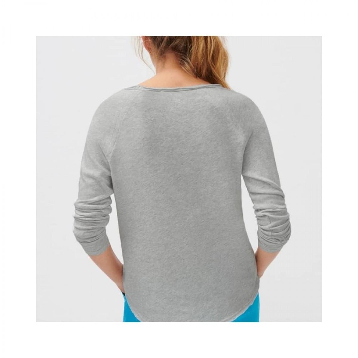 sonoma bluse - heather grey - model ryggen