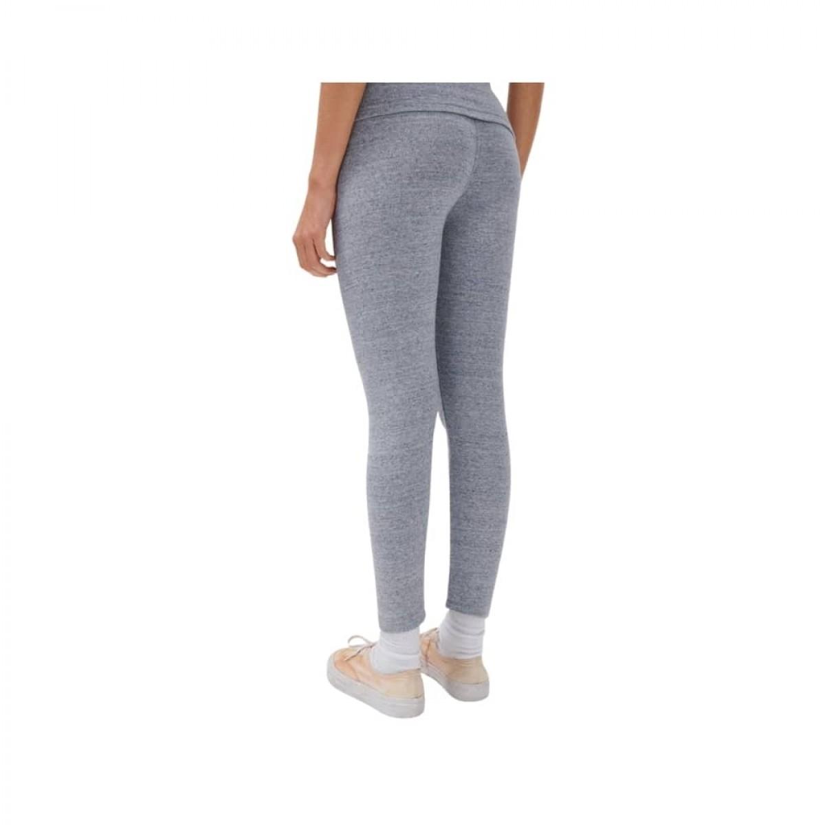 nooby leggins - heather grey - model fra siden