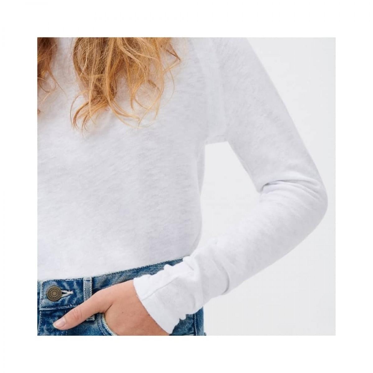sonoma bluse - white - model detalje