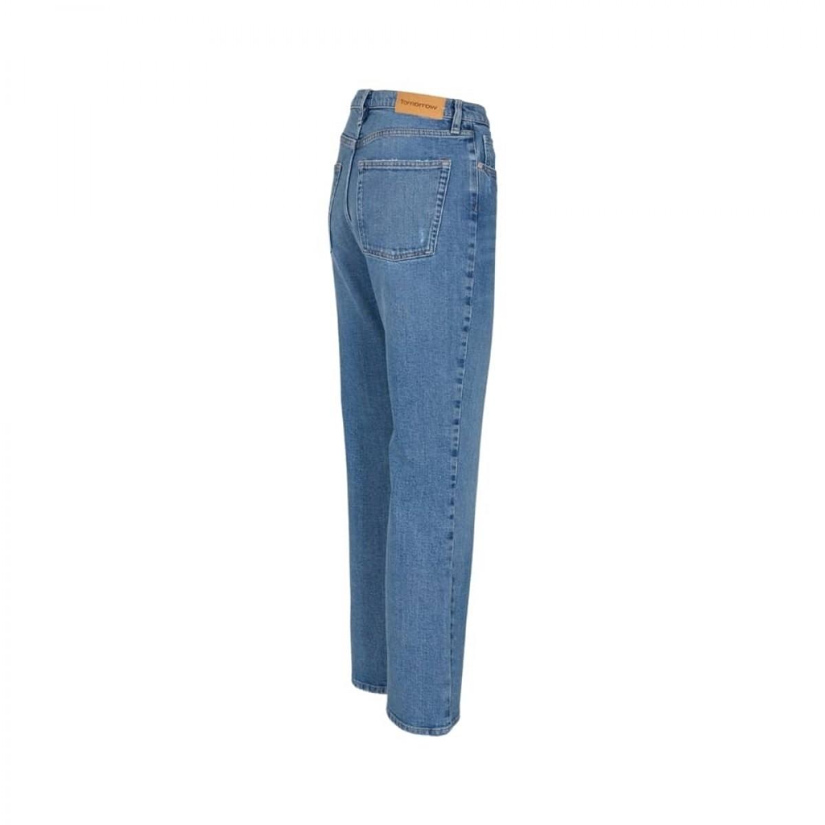 marston jeans - denim blue - fra siden