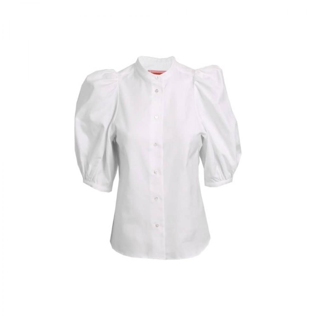 dalia skjorte - white - front