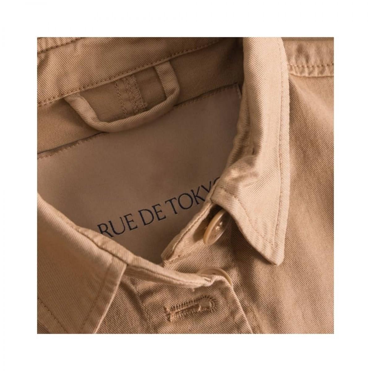 cady workwear jakke - light brown - krave detalje