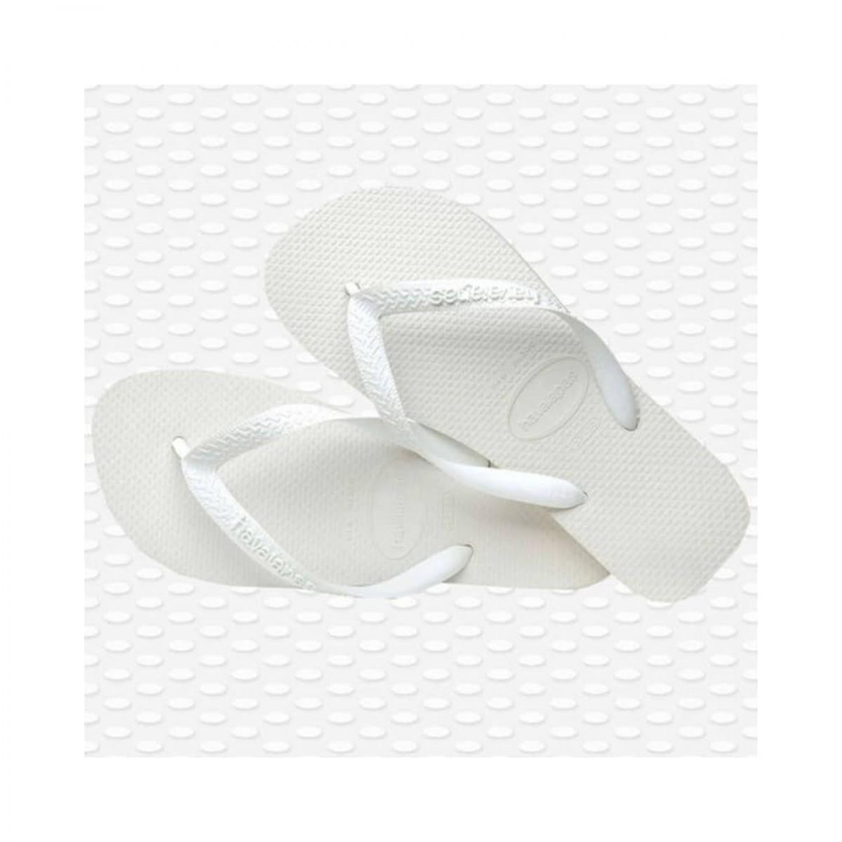 havaianas top - white