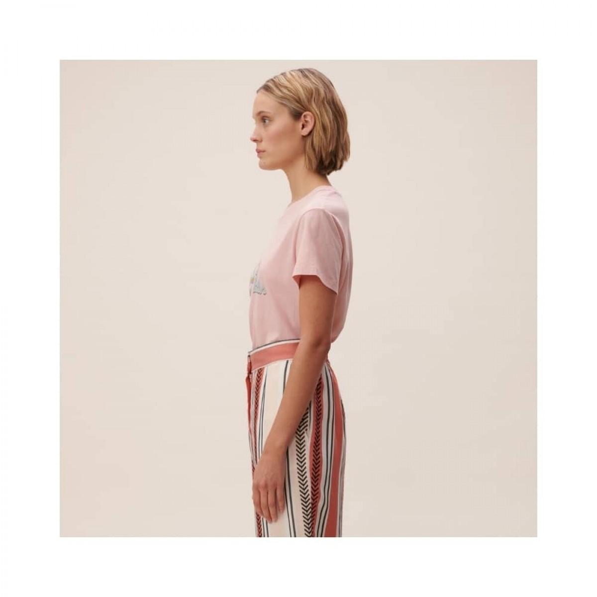 cara t-shirt - pink - model fra siden