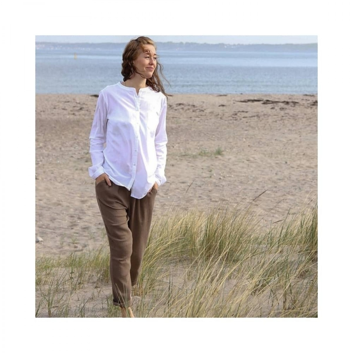 woodie skjorte - white