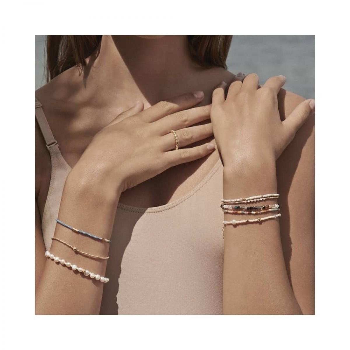 anni lu dusty eldorado bracelet - gold - model flere