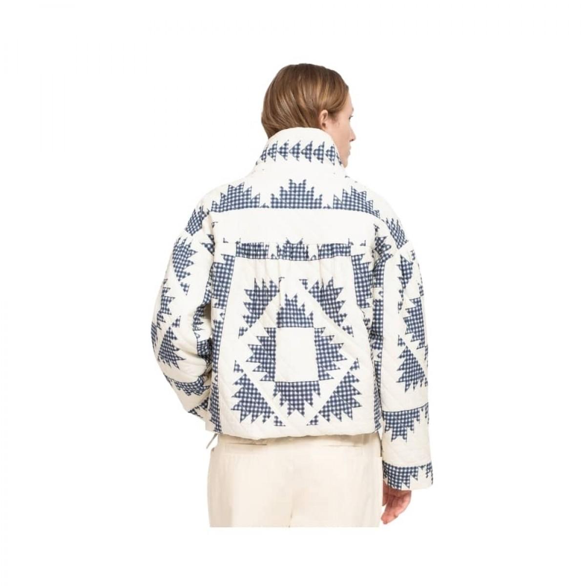 gloucester puffer jacket - multi - model ryg
