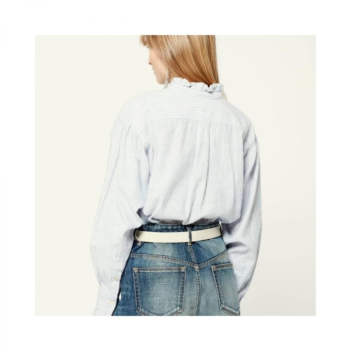 saoli skjorte - blue - model ryggen