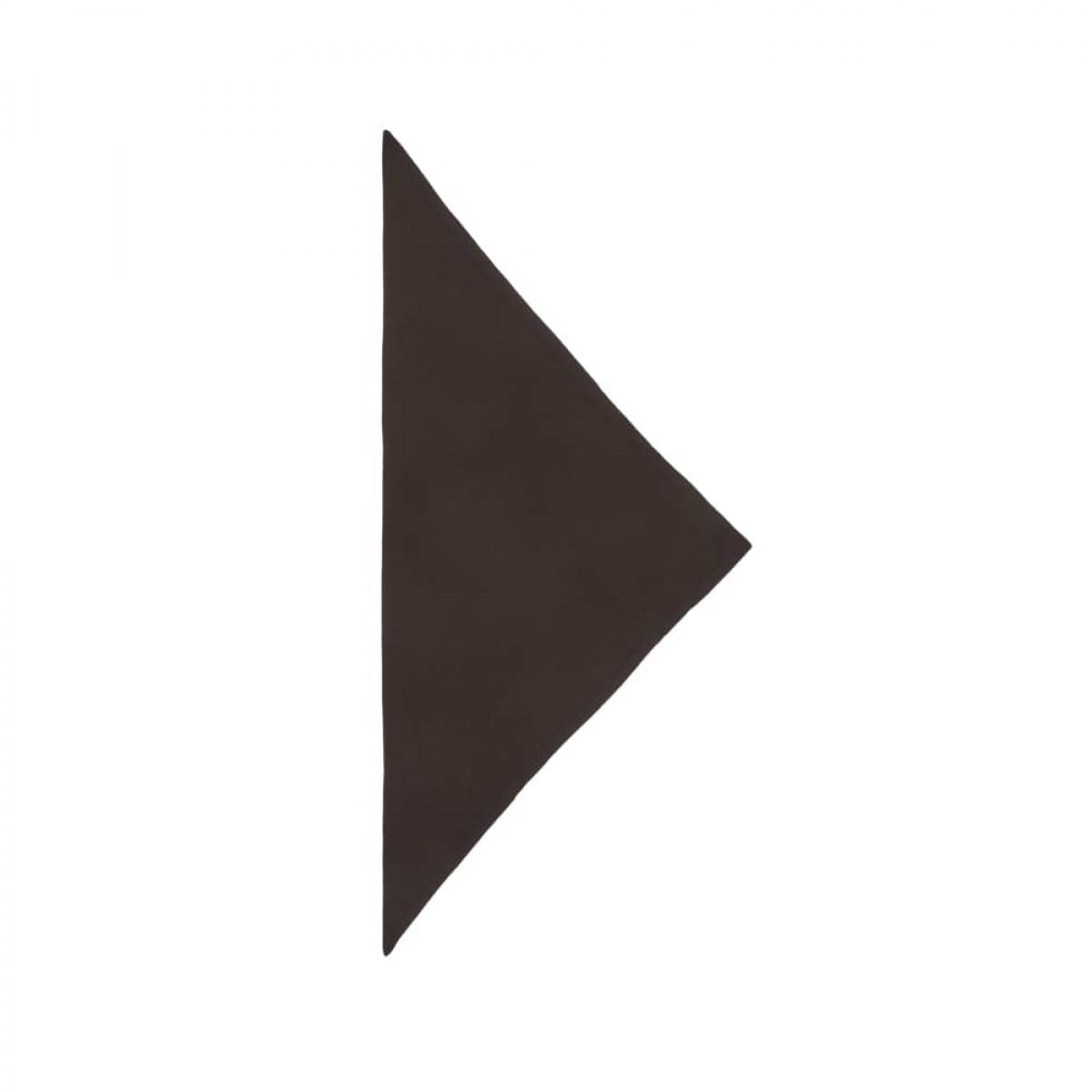 triangle solid logo m - moka - front