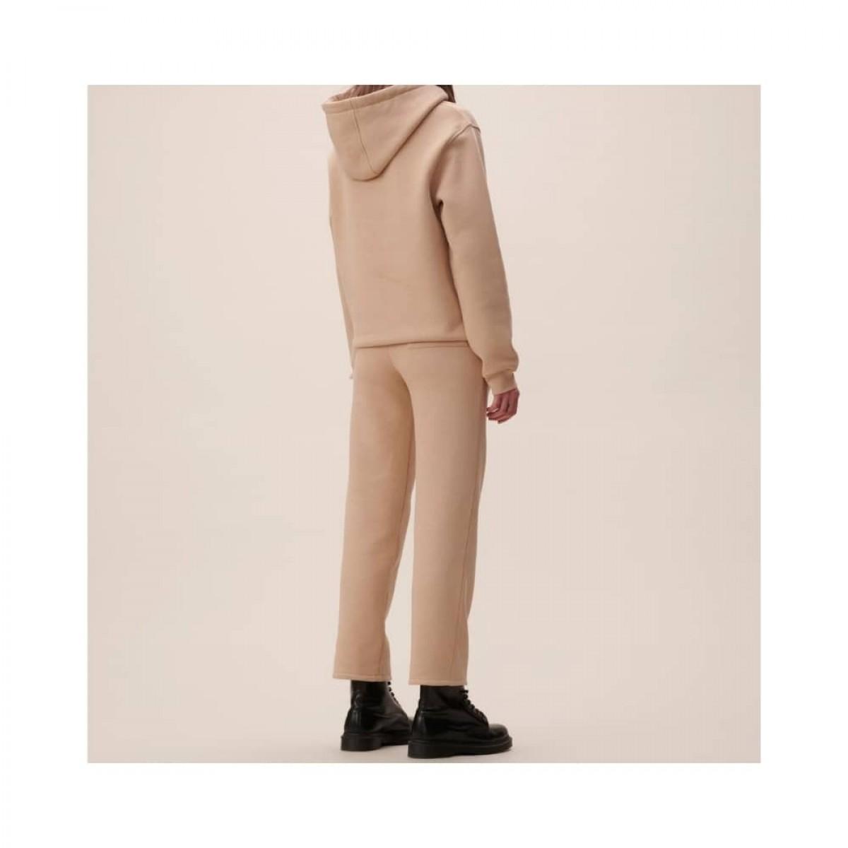 yetka sweat bukser - nomad camel - model bagfra