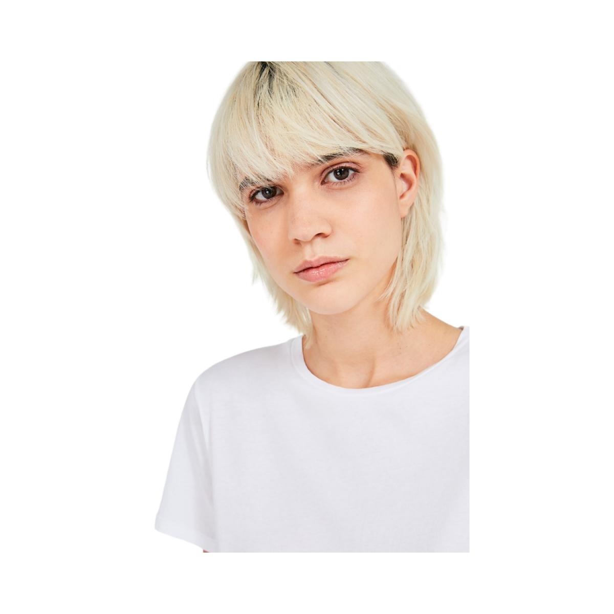 vegiflower t-shirt - blance - detalje billede