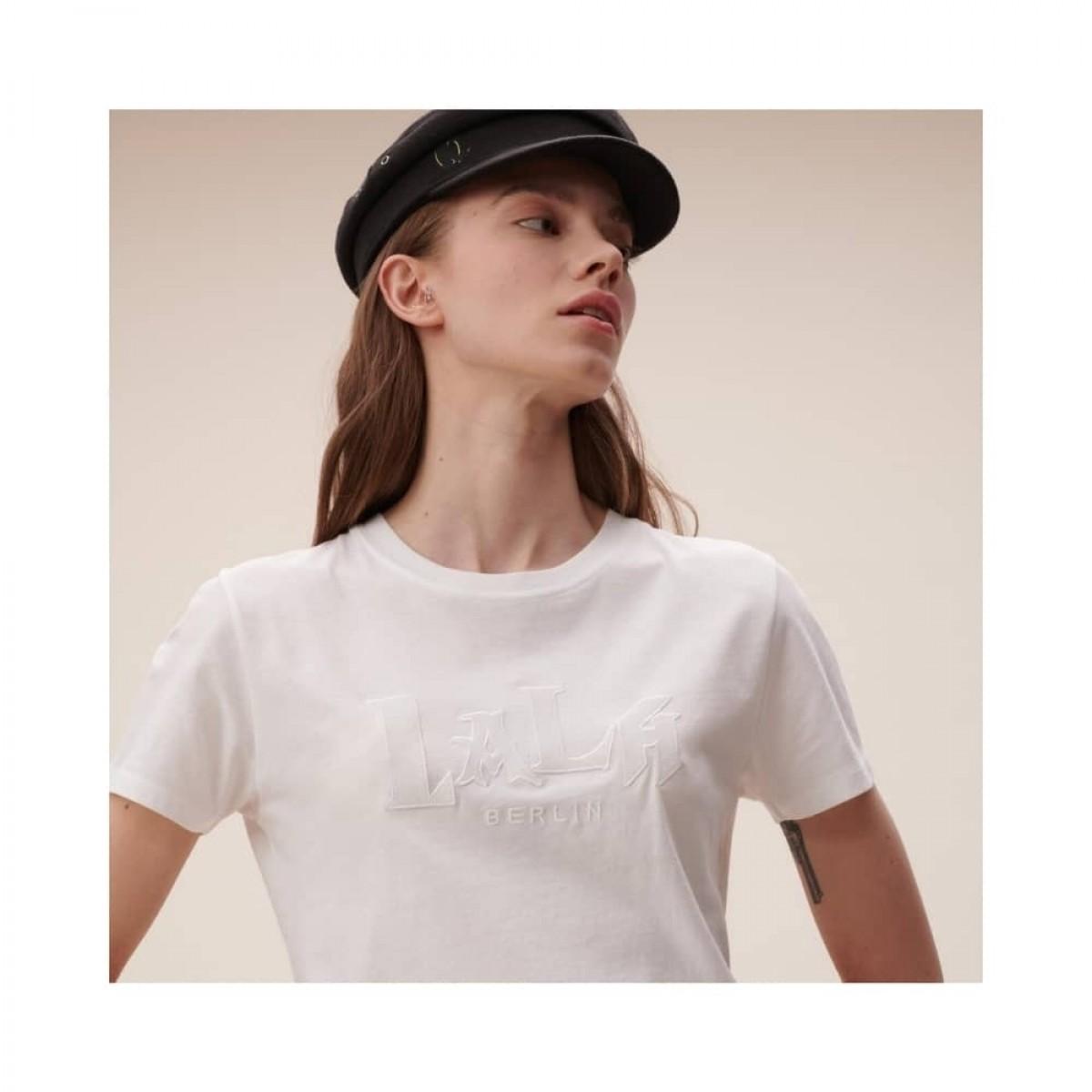 t-shirt reda lala mix - white - model broderi