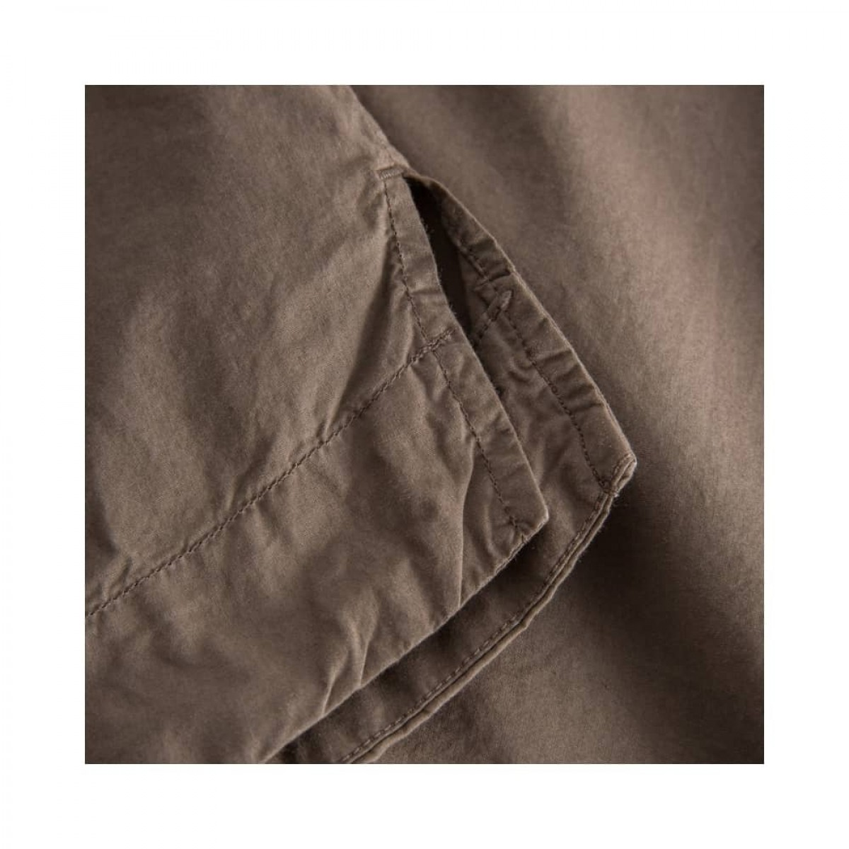 sada skjorte bluse - brown - slids detalje