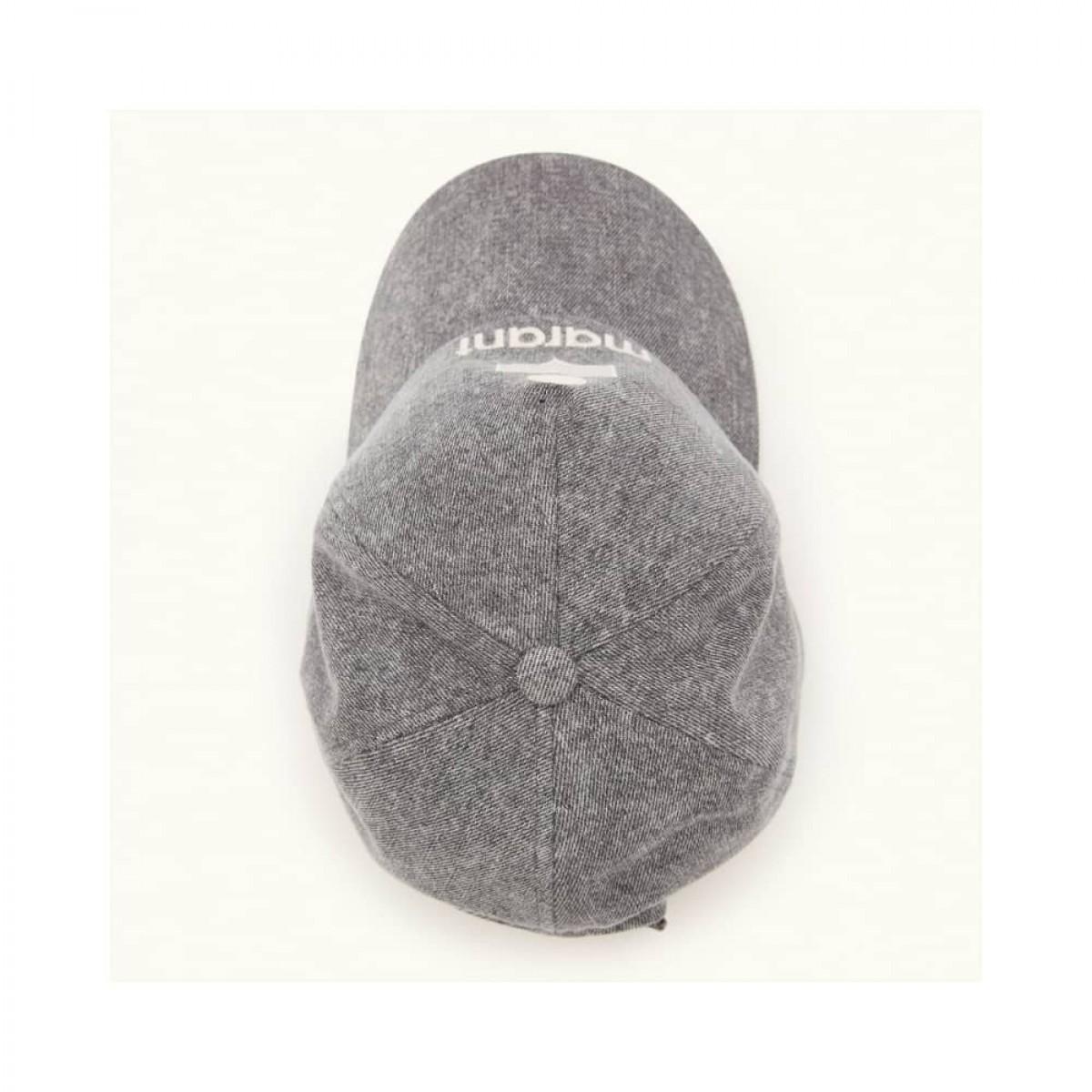 tyron cap - grey - fra toppen