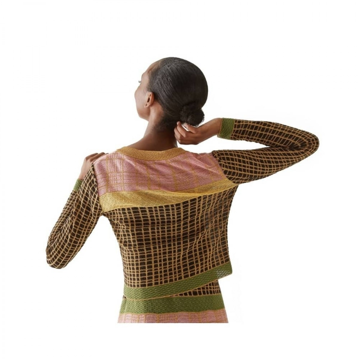m missoni cardigan - multicolor - model ryg