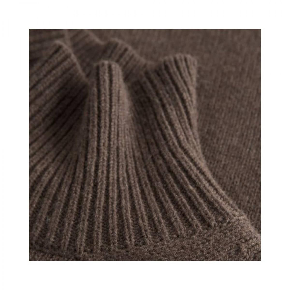 manny pullover - dark brown - krave