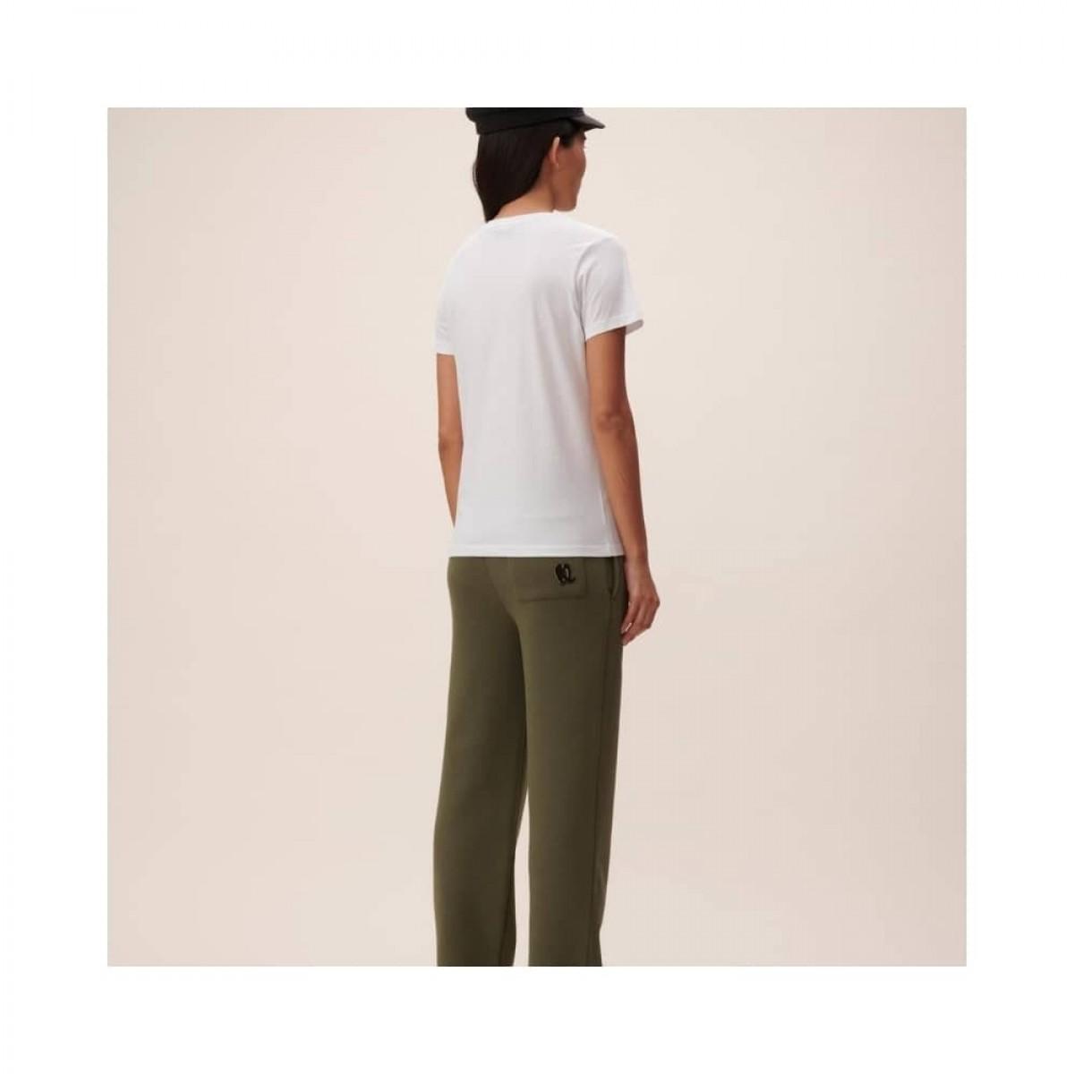cara t-shirt rainbow - white - model ryggen
