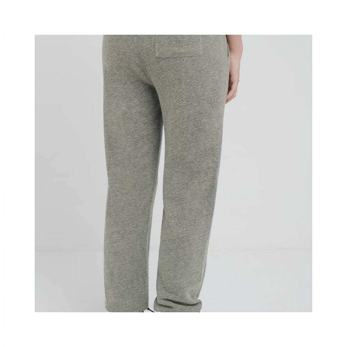 plomer sweat bukser - heather grey - model bagfra