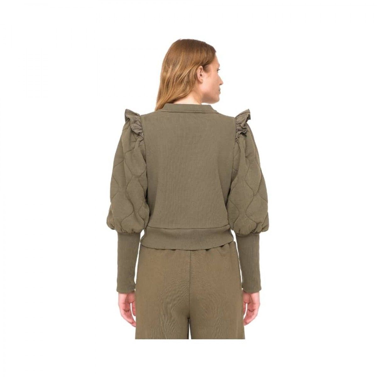 layla sweat - army - model bagfra