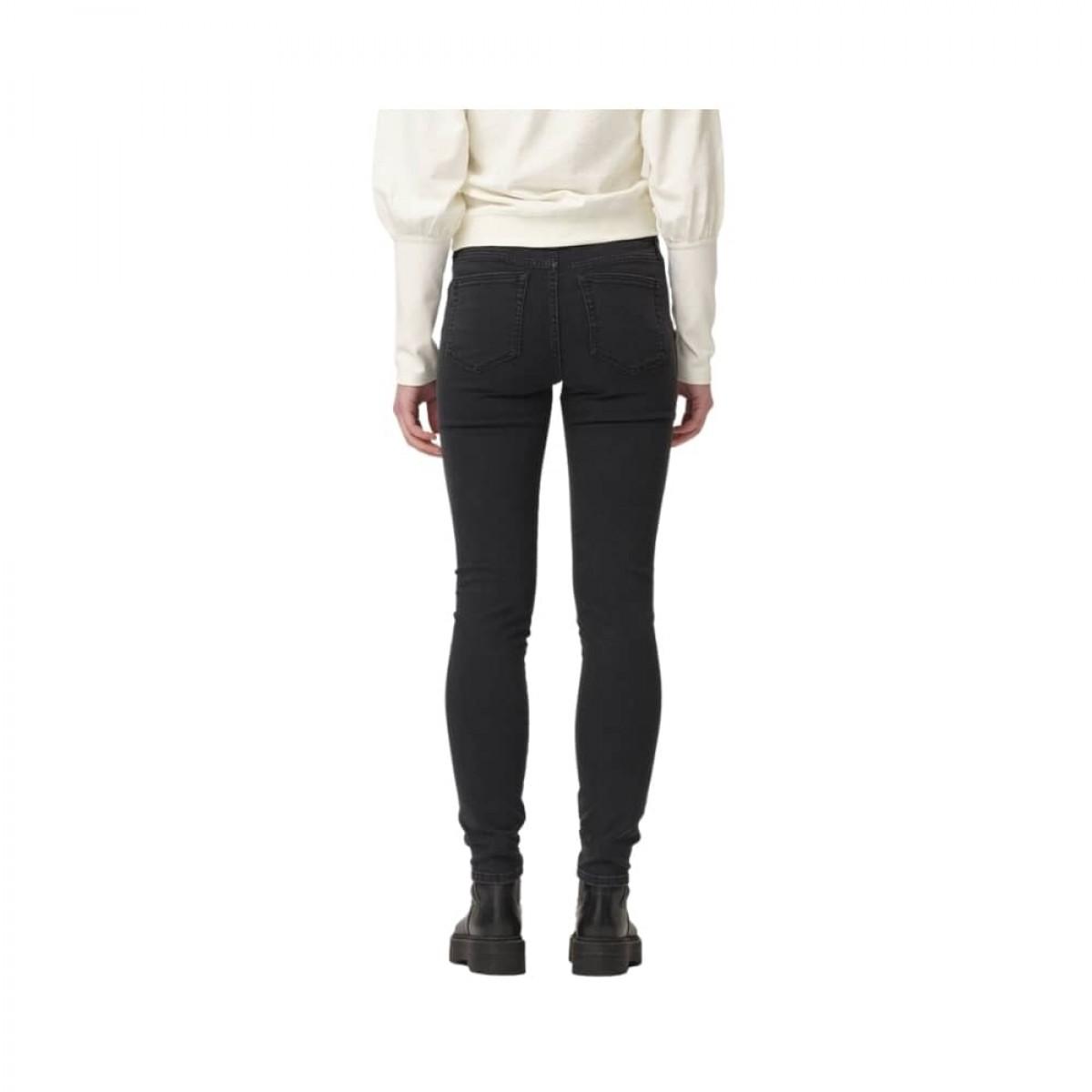 dylan slim jeans - black - model model bagfra