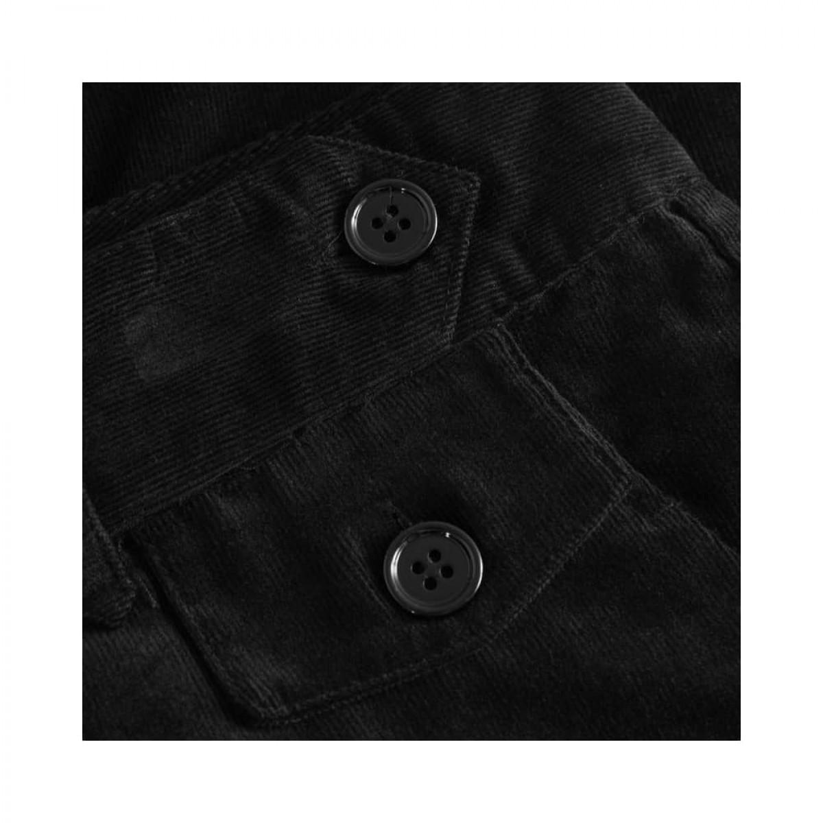 coppola pants - black fløjl - lille lomme detalje