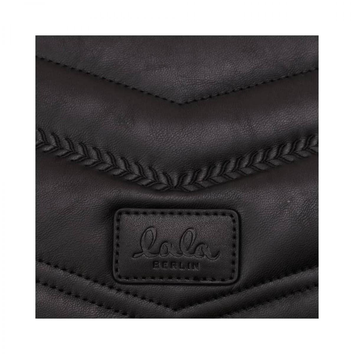 pouch nola - black - logo