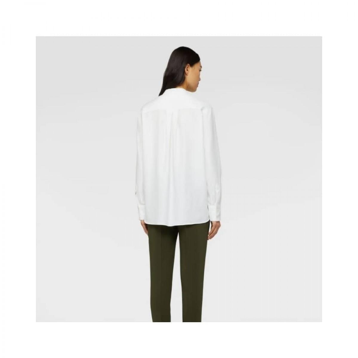 aspesi shirt - white - model ryg