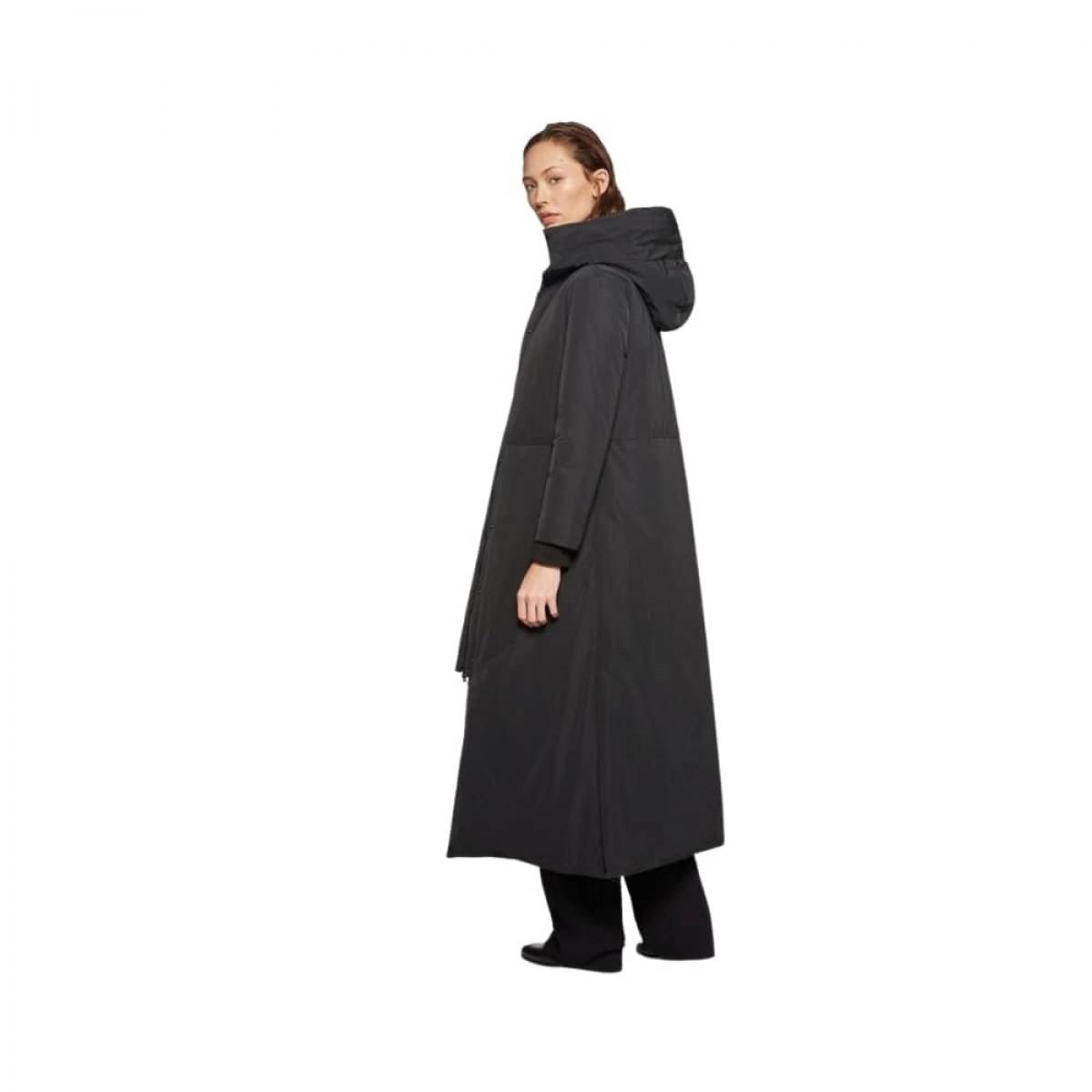 aspesi frakke - black - model fra siden