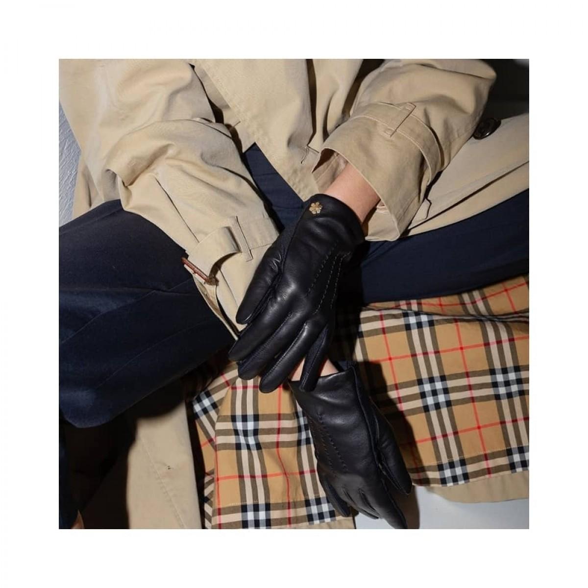 cordelia handske - black - siddende model