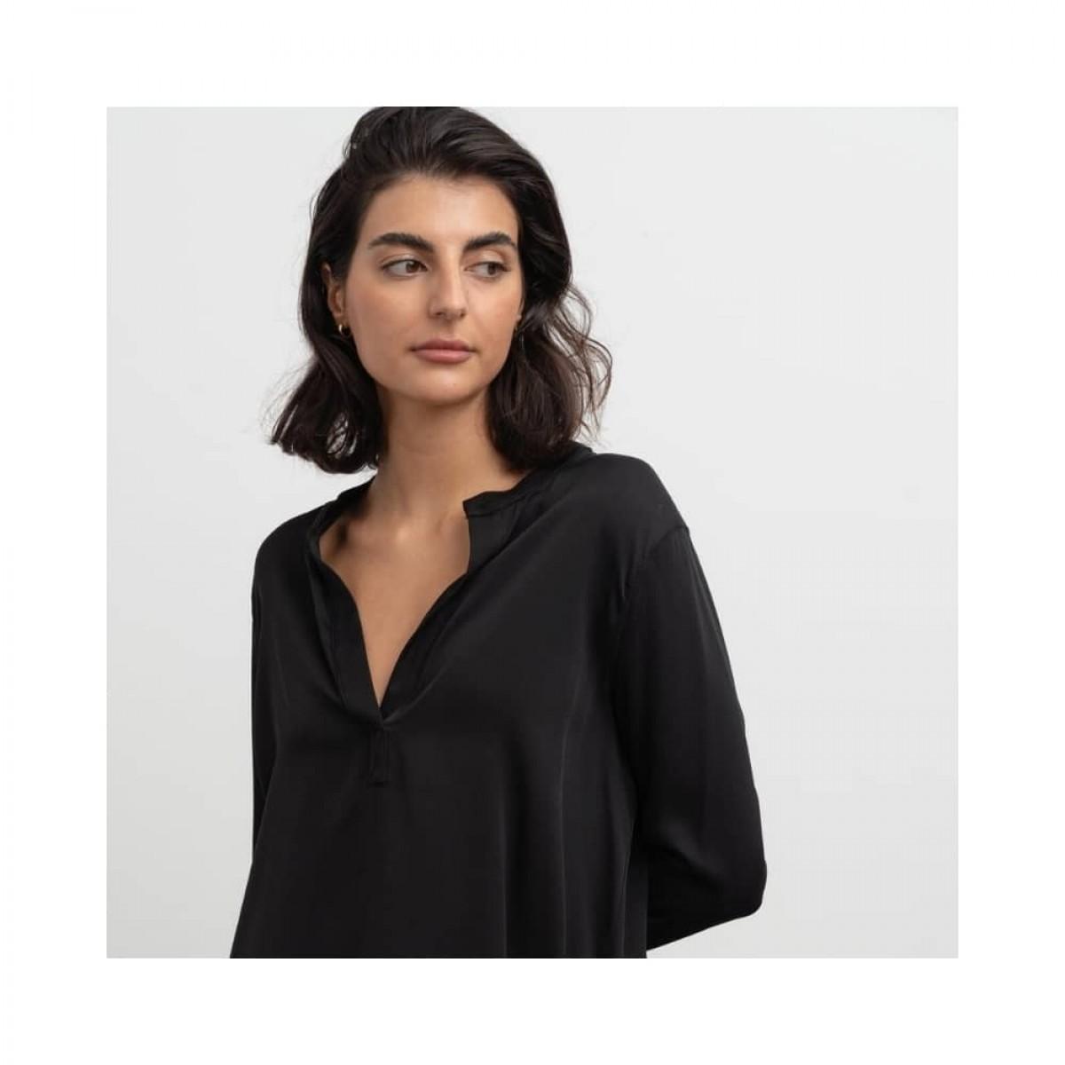 coco blouse - black