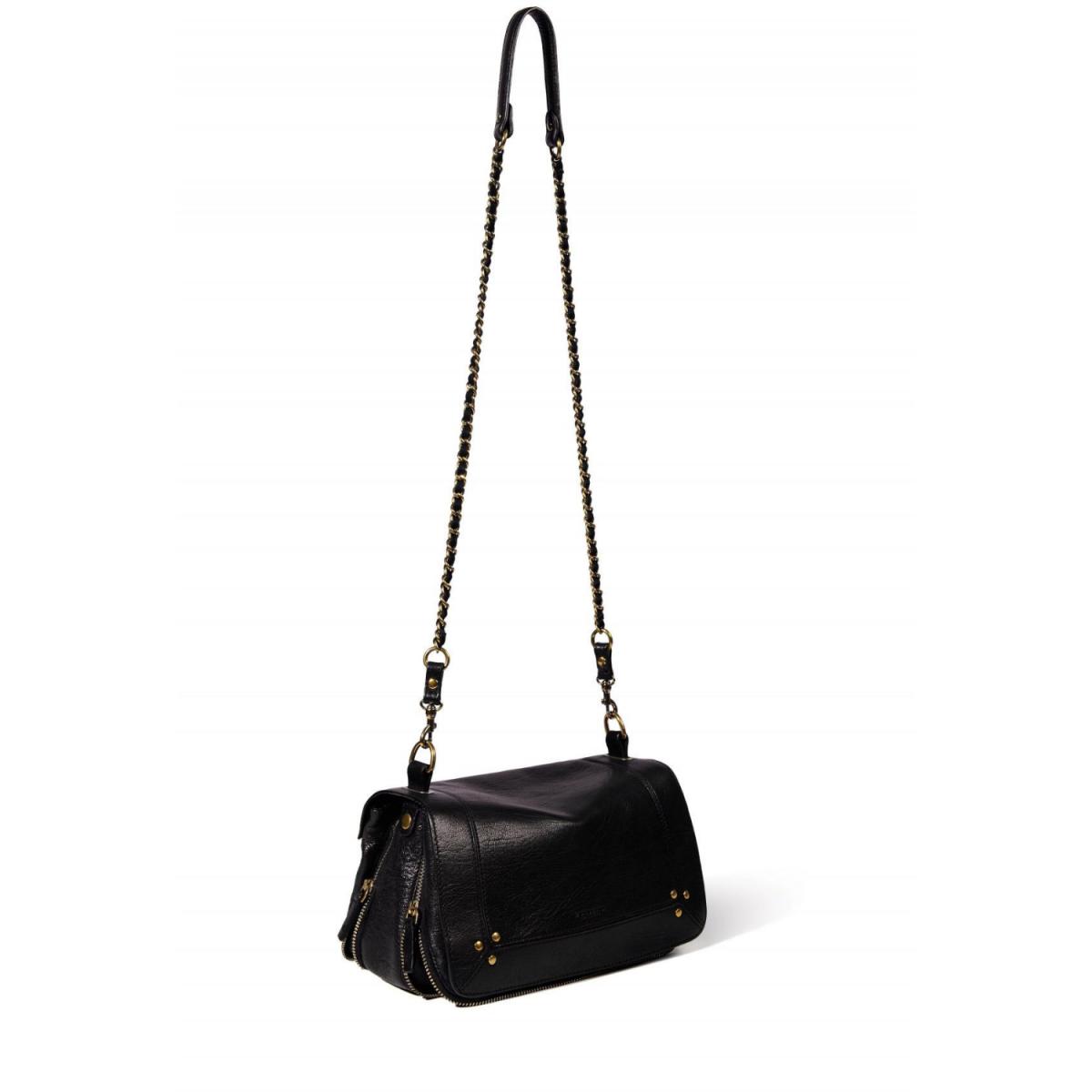 bobi taske - black - smuk kæde