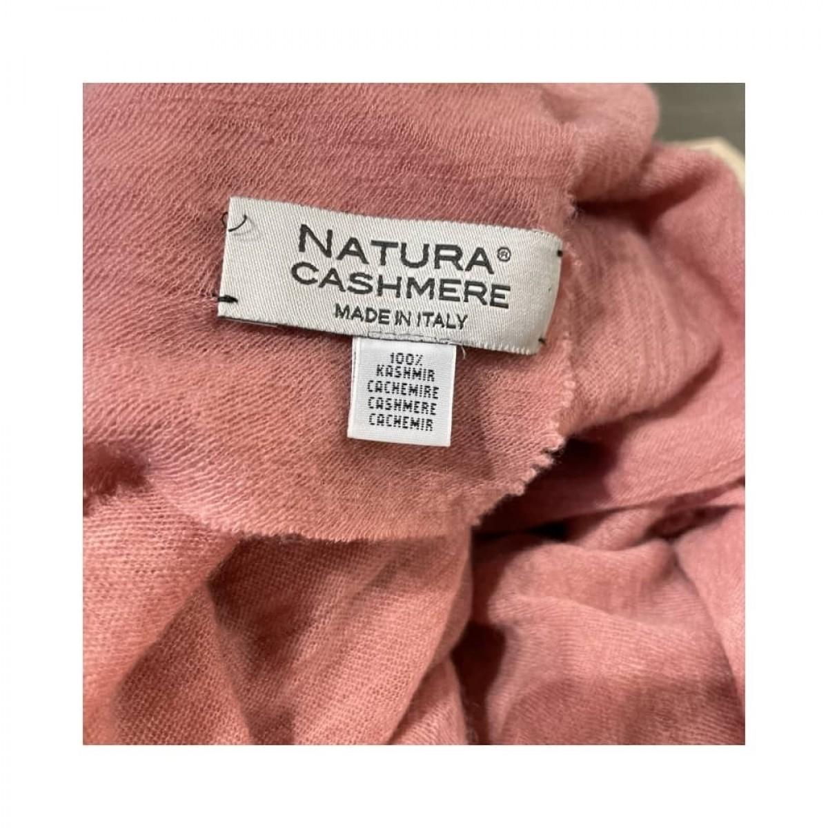 luxury m tørklæde - old pink - brand