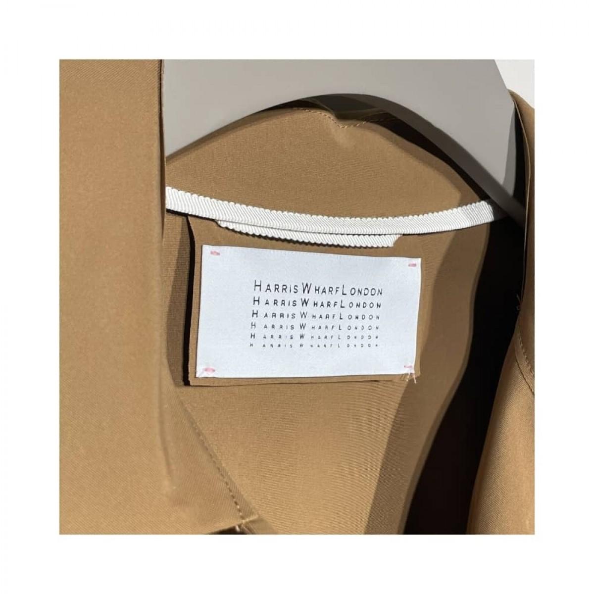 short loden jakke - brand logo
