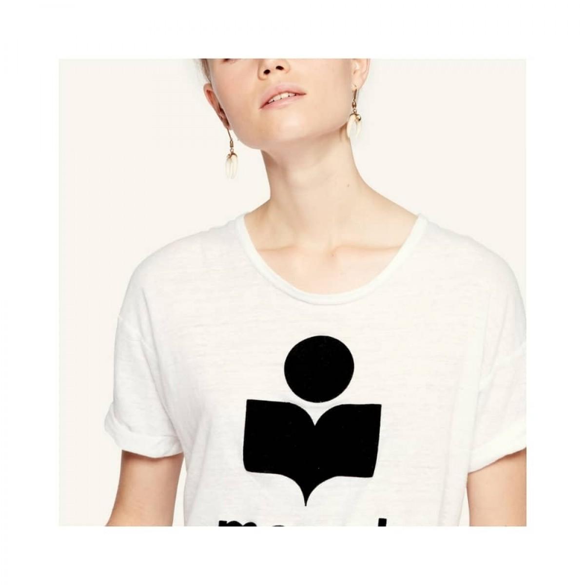 koldi t-shirt - white - model logo detalje