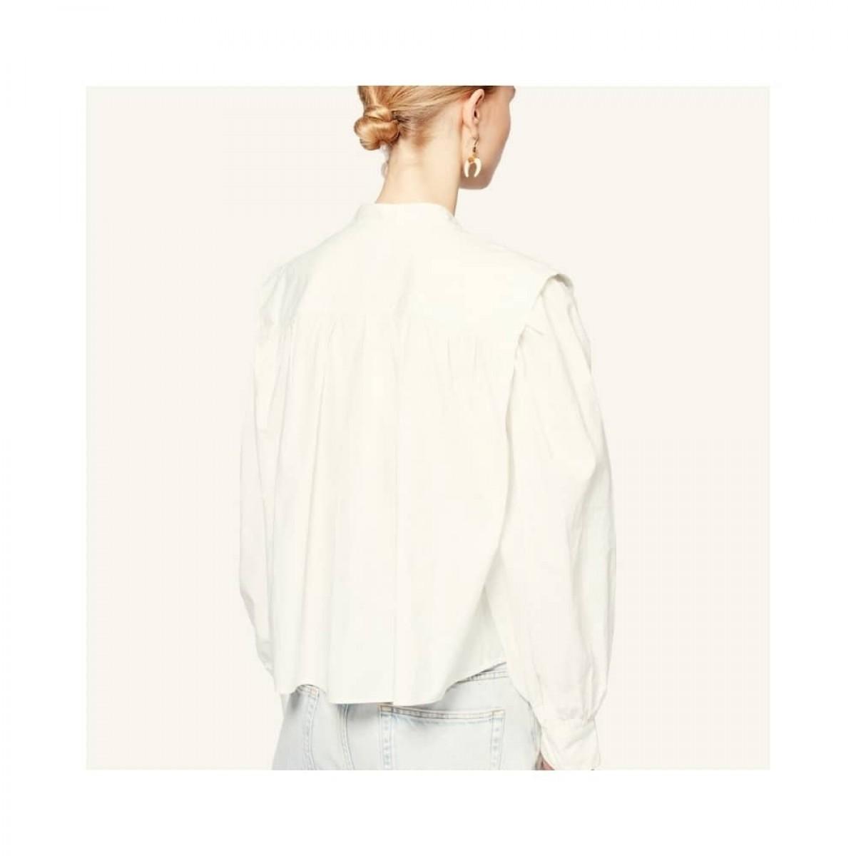 okina top - white - model ryg