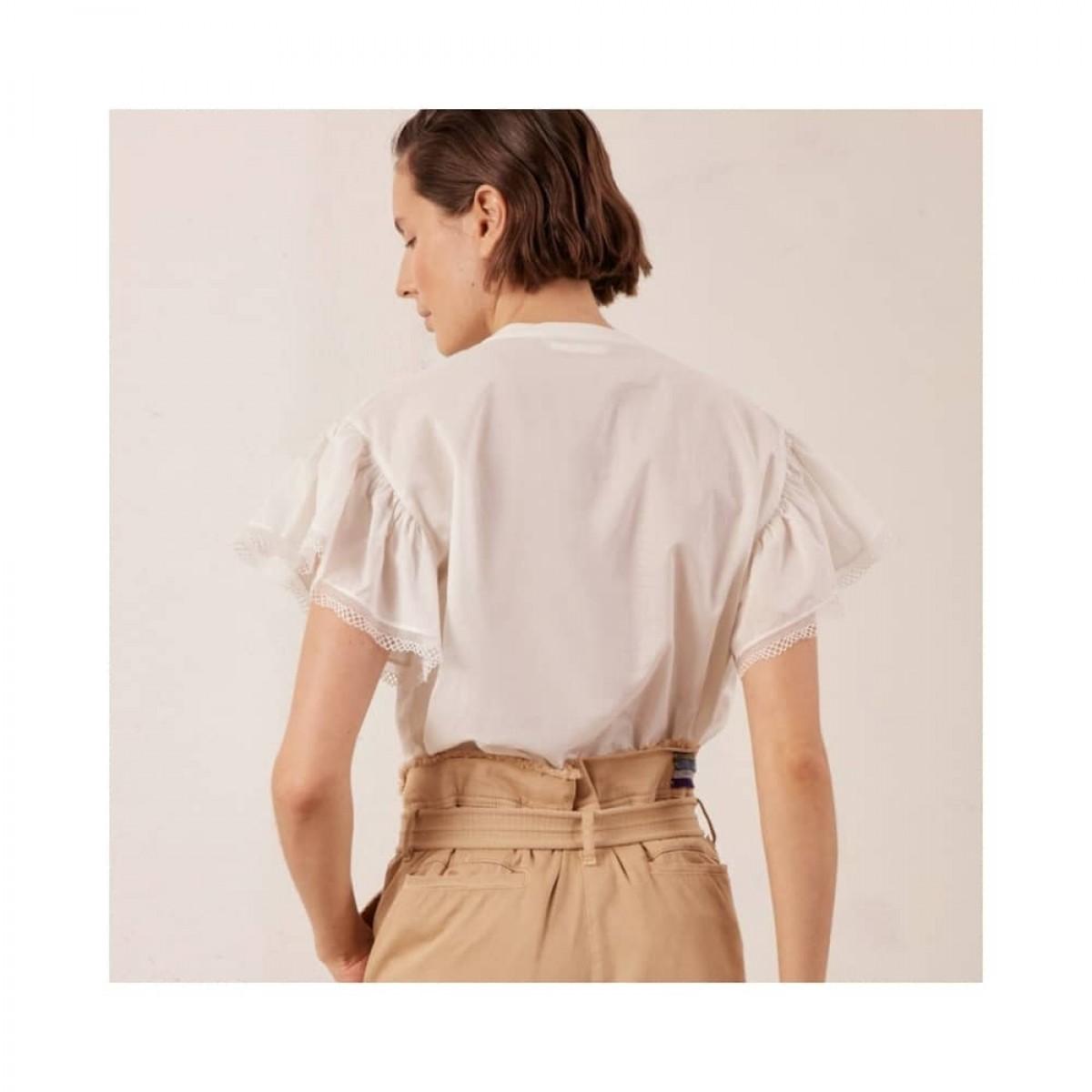 robinson bluse - ecru - model ryg