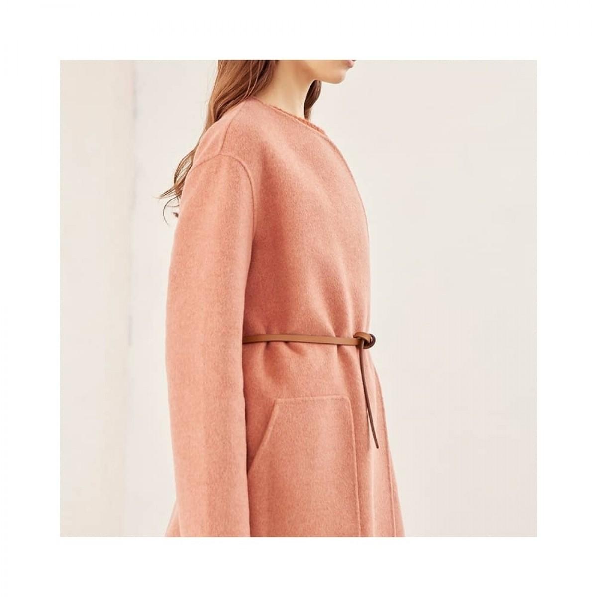 rino uld jakke - rose - model fra siden