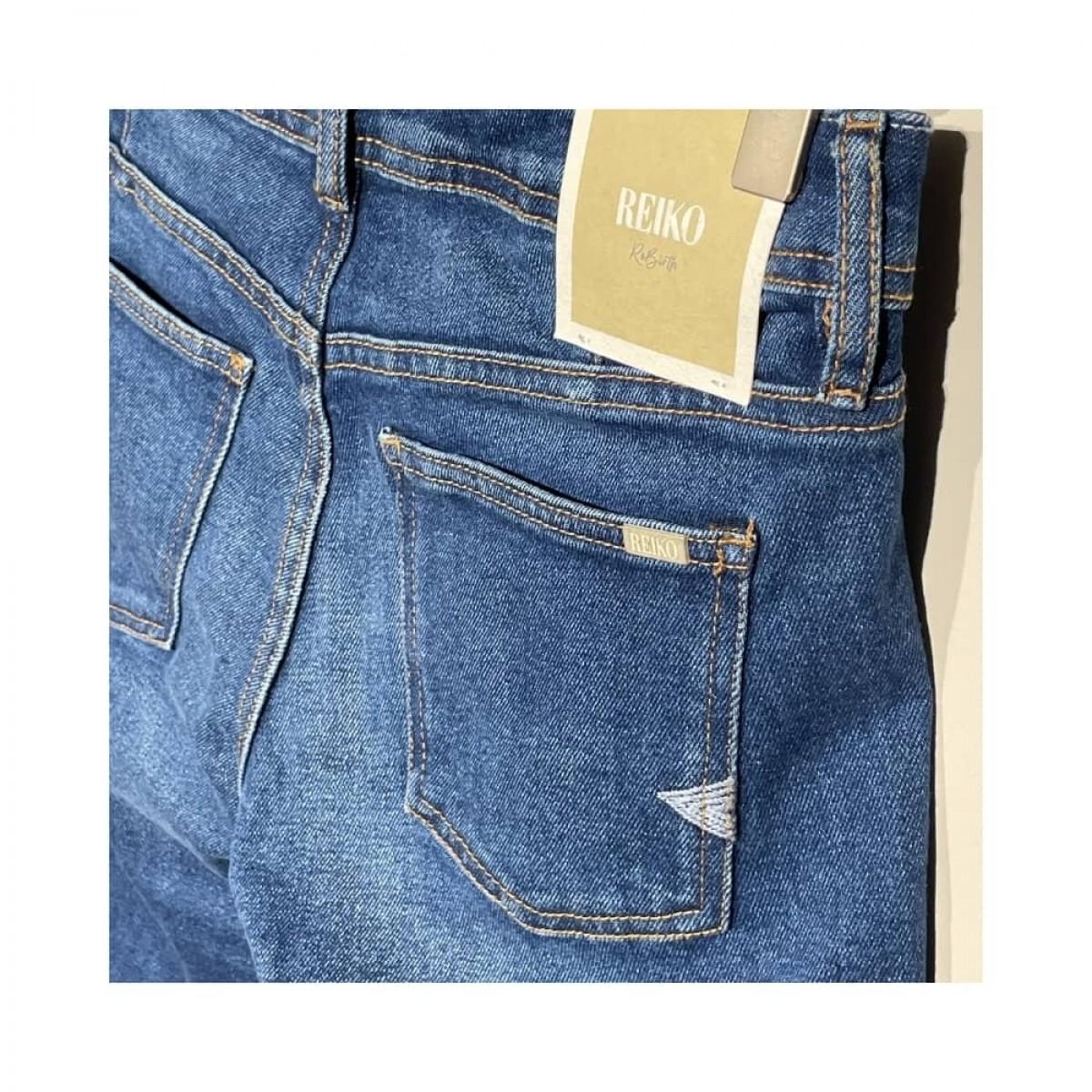 nina boyfriend jeans - blue - baglomme
