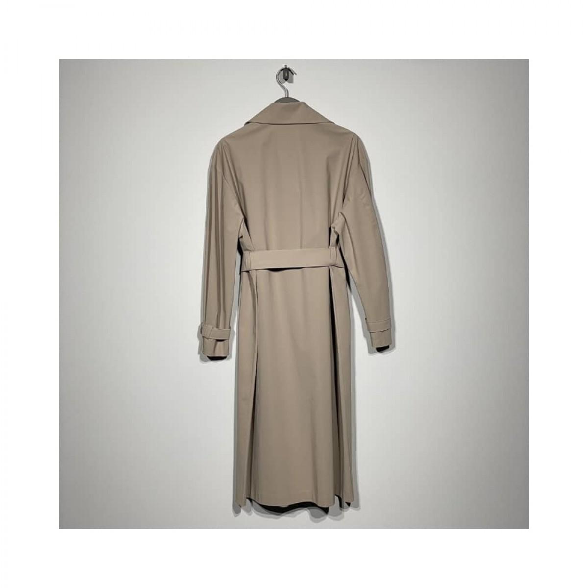 trench coat light technic - camel - bag