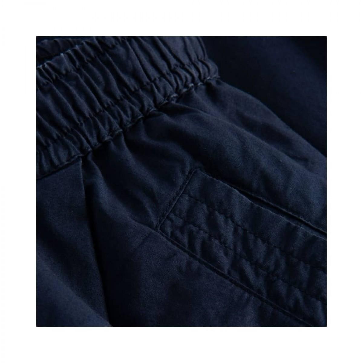 peony shorts - dark navy - lomme detalje