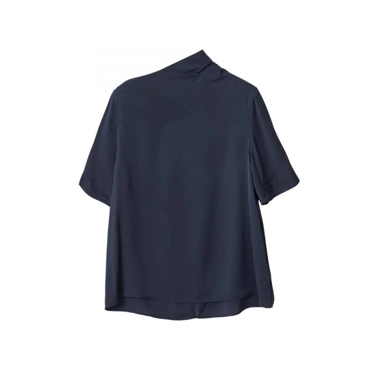 lima tee - blue grey - front