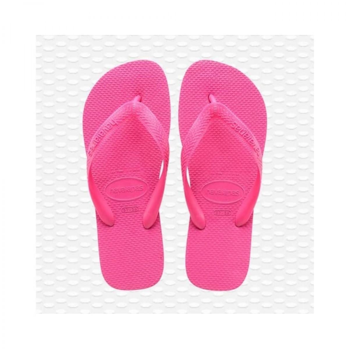 havaianas top - pink flux - front