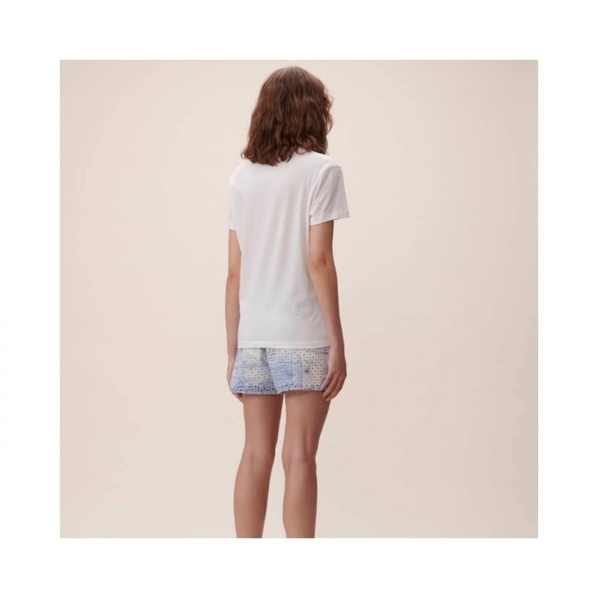 cara t-shirt - white - model bagfra