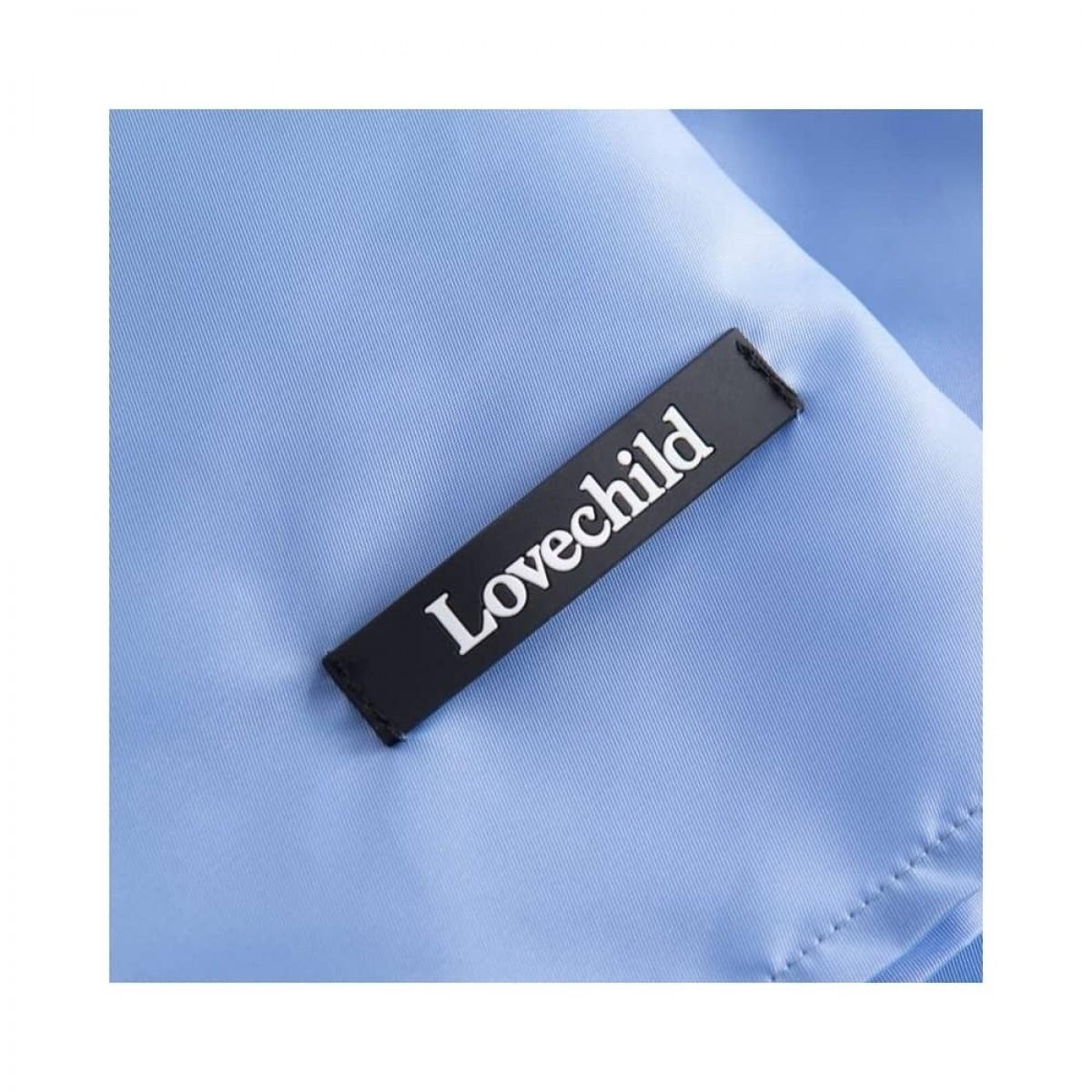 alessio shorts - sky blue - logo